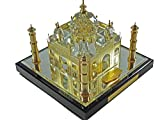 #10: 24k Gold Taj Mahal with Story Card, Taj Mahal Souvenir, Taj Mahal Model, Taj Mahal Replcia, Indian Gifts, Tag Mahal (10 cm)
