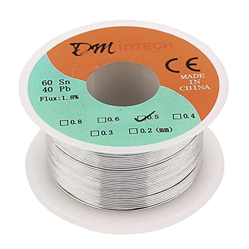 0.5mm 60/40 Tin lead Rosin Core Solder Wire Reel - 1