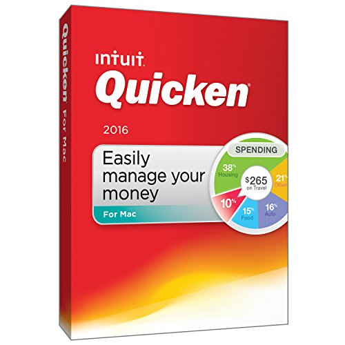 Quicken For Mac 2016 Personal Finance & Budgeting Software [Old Version]]()