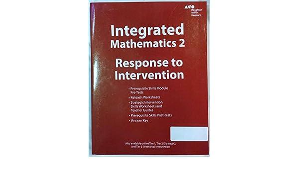 Integrated Mathematics 2 - Response to Intervention: Houghton ...