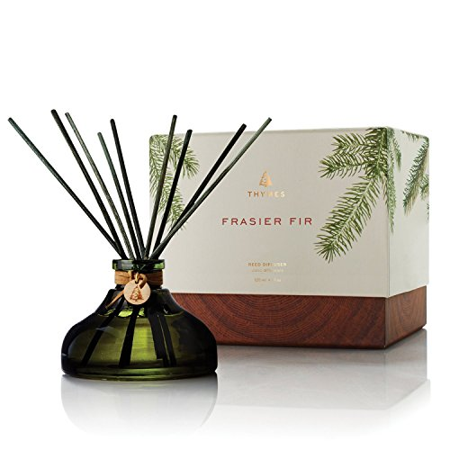 Thymes Frasier Fir Aromatic Reed Diffuser - 4.1 fl oz/120 ml by Thymes