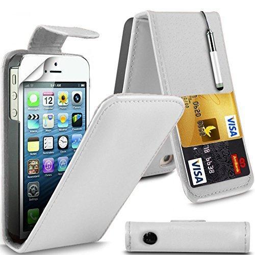 Para HTC Desire 610 de piel sintética con tapa carcasa ...