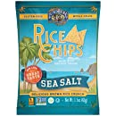 Lundberg Family Farms Rice Chips, Sea Salt, 1.5 Ounce (Pack of 24)