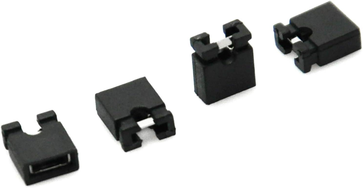 R 50pcs 2,54 Capuchon de cavalier mini-court-circuit Cap Connecteurs Cikuso Cikuso