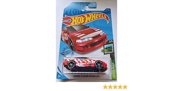 Hot Wheels2020 velocidades Blur-Custom/'01 Acura Integra Gsr 97//250 nos caso K