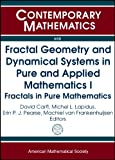 Fractal Geometry and Dynamical Systems in Pure and Applied Mathematics I, , 0821891472