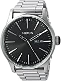 Nixon Men's 'Sentry SS' Quartz Stainless Steel Casual Watch, Color:Silver-Toned (Model: A3562348-00)