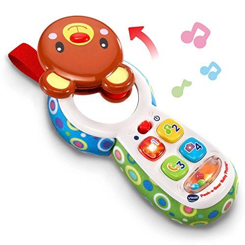51MG2z1jIzL - VTech Baby Peek-a-Bear Baby Phone