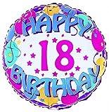 Happy 18th Birthday Balloons ~ Edible Image Cake Topper