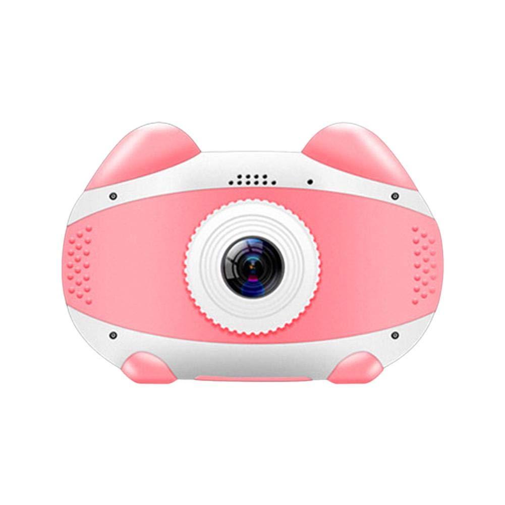 Coaste Smart WiFi Kids Digital Camera, Cartoon Cat HD 1080p Student Travel Camera, Kids Digital Camera Gifts for Child Boys Girls 32GB Memory Card