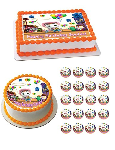 Sheriff Callie's Wild West Edible Cake OR CupcakeTopper - 2' cupcake (12 peaces/sheet) inches]()