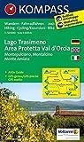 Carta escursionistica n. 2463. Lago Trasimeno, area protetta Val d'Orcia. Adatto a GPS. DVD-ROM. Digital map
