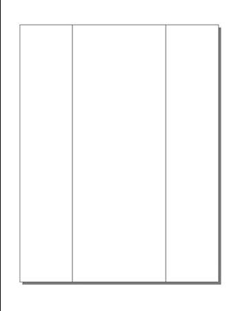 amazon com print ready tri fold mailers 11 x 4 folded 1 up on