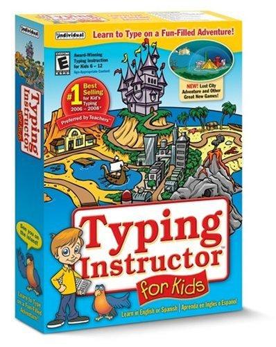 Typing Instructor for Kids 4 (Safe Harbour Spring)