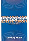Vocabulary Expansion, Rubin, Dorothy, 0024042455