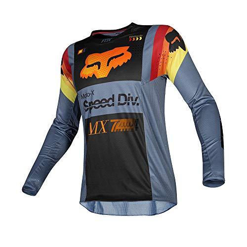 2019 Fox Racing Youth 360 Murc Jersey-Blue Steel-YL ()