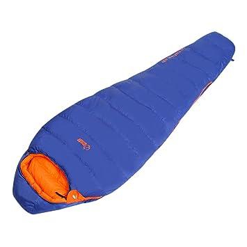 DHWJ Saco de Dormir Momia Adulto al Aire Libre, Camping Franela de Almuerzo Descanso Acolchado Saco Largo Camping Camping Bolsa de Dormir Caliente Gruesa-A: ...