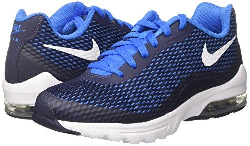 Nike Air Max Invigor Se Mezzanotte Blu Scuro Foto Foto Blu Mens Scarpe Da Corsa 870614401 Blu Notte Blu / Bianco Foto Blu
