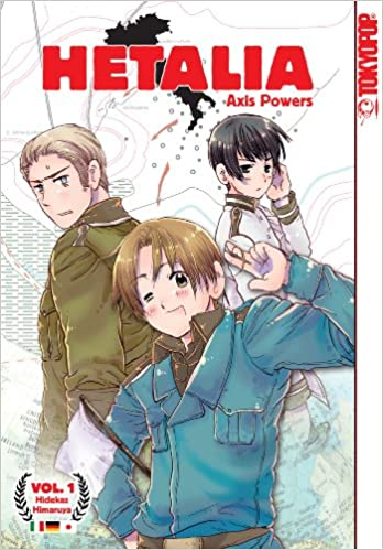 Image result for hetalia vol1