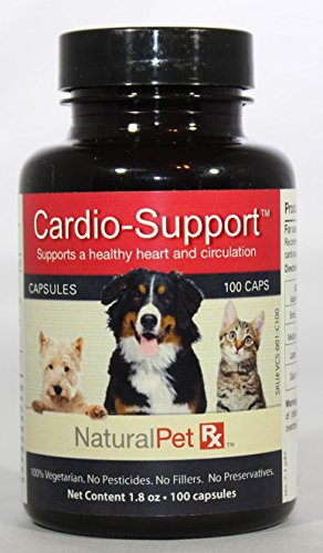 Natural Pet RX Cardio Support Heart & Circulation Support (100 Capsules)