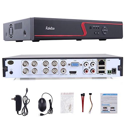 Faittoo H.264 8CH 1080N AHD DVR Hybrid AHD+HVR+TVI+CVI+NVR - Did Dash Cam