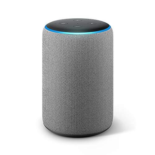 Echo Plus (2da generación) - Sonido de alta calidad y hub de Casa Inteligente integrado, gris...