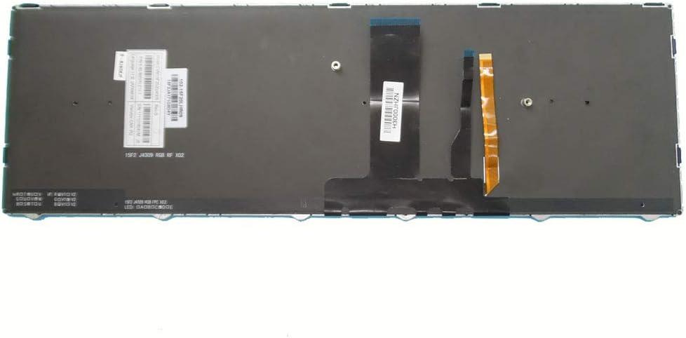 Laptop Keyboard for Pcspecialist N850EP6 Japanese JP Black with Frame Backlit New and Original