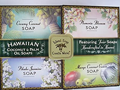 Hawaiian Coconut & Palm Oil Soap Set