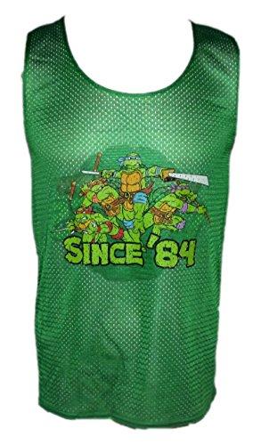 Mighty Fine Teenage Mutant Ninja Turtles Reversible Mesh Adult Jersey Tank (Small) (Ninja Turtles Sensei)