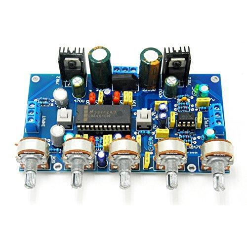 LM4610 NE5532 Preamplifier tone board by Jolooyo