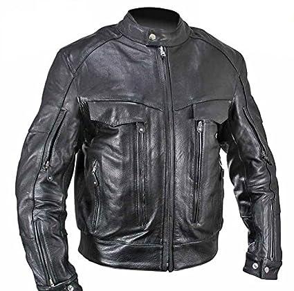 Amazon Com Xelement B4495 Bandit Men S Black Buffalo Leather