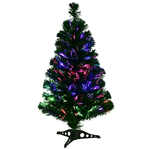 Fibre Optic Tree With Led Lights in US - 9
