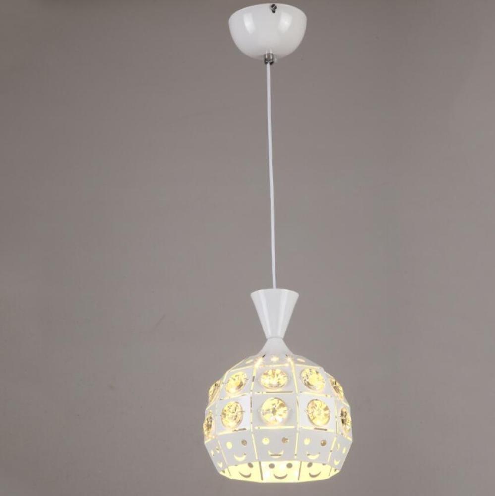 GL&G Modern luxury living room lighting iron lamp shade living room lights home meal chandeliers,LED Bulb Included, Warm White Light,1pc,1822cm
