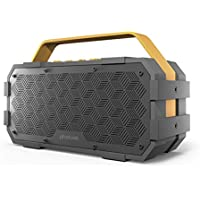 Photive M90 Portable Waterproof Bluetooth Speaker with...