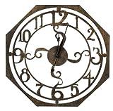 Cooper Classics Ruhard Wall Clock