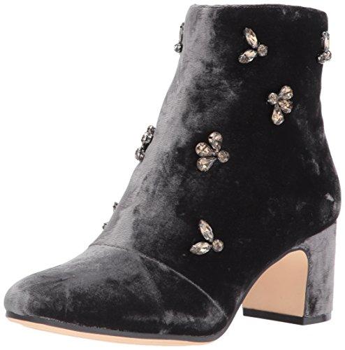 Glinda Shoes - Anne Klein AK Sport Women's Glinda Velvet Ankle Boot, Dark Grey, 8.5 M US