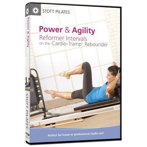 STOTT PILATES Power and Agility - Reformer Intervals on the Cardio-Tramp Rebounder DVD