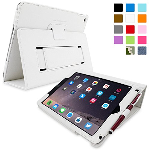 ipad air h lle neues ipad 2017 9 7 zoll h lle wei snugg smart case. Black Bedroom Furniture Sets. Home Design Ideas