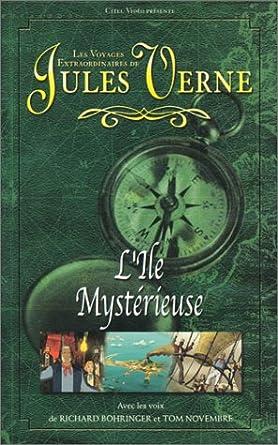 Les Voyages extraordinaires de Jules Verne : L'Ile Mystérieuse / Cesar Cascabel (Dessin animé) [VHS]: Laguionie, Jean-François: Amazon.fr: Vidéo