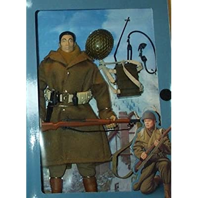 "12"" GI Joe WWII 442nd Infantry Japanese-American Nisei Soldier Action Figure: Toys & Games"