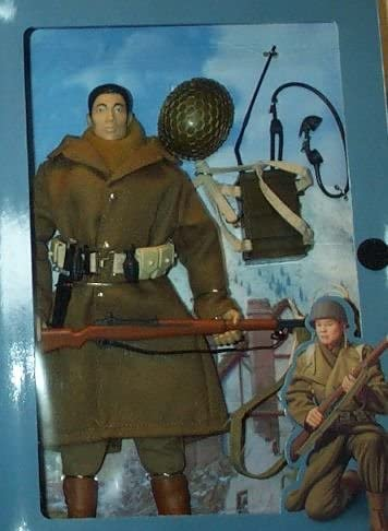 "12"" GI Joe WWII 442nd Infantry Japanese-American Nisei Soldier Action Figure 51MG8QQJ6RL"
