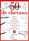 50 dessins de chevaux par Lee J. Ames