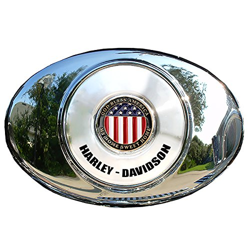 round air cleaner cover harley - 7
