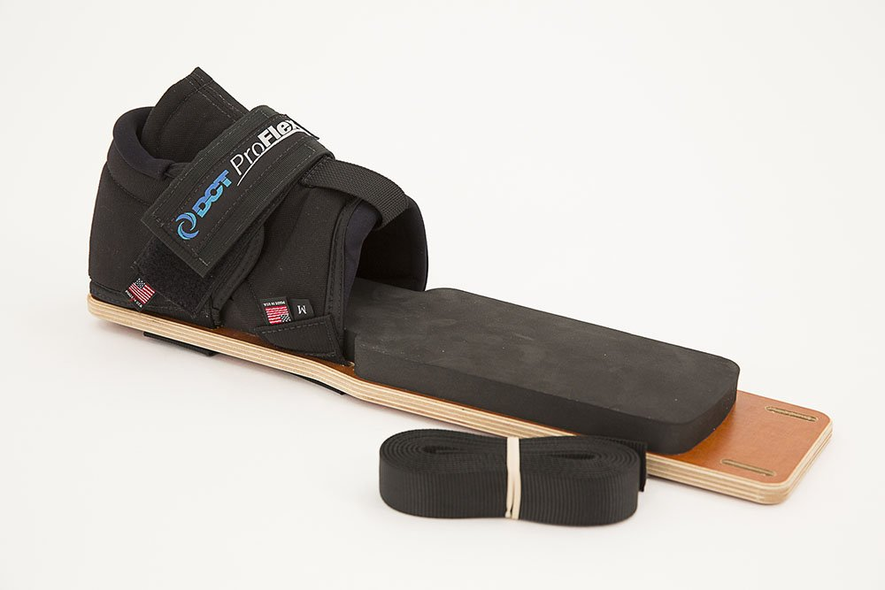 DCT Proflex - Total Lower Body - Leverage Based Resistance Stretching Tool - Get the Ultimate Hamstring Stretch (Small)