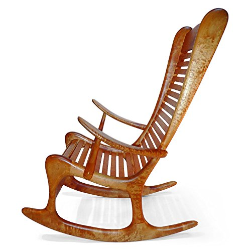 Build-Your-Own Curly Maple Rocker Plan – American Furniture Design