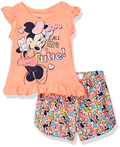 Disney Girls Minnie Mouse Woven