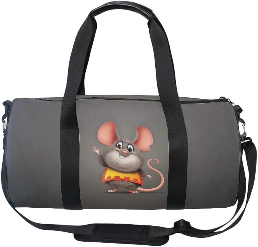 Round Paint Splatter Gym Duffle Bag Drum tote Fitness Shoulder Handbag Messenger Bags
