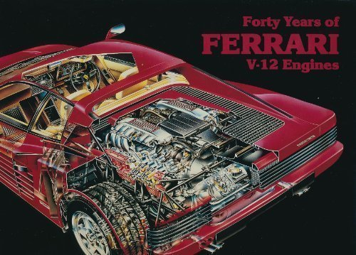 Forty Years of Ferrari V12 Engines for sale  Delivered anywhere in USA