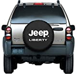 tire covers jeep liberty - Moonet Canvas Car Spare Tire Cover Jeep Liberty Truck SUV Camper Wheel Care Fits R16 (79cm/31.1inch)
