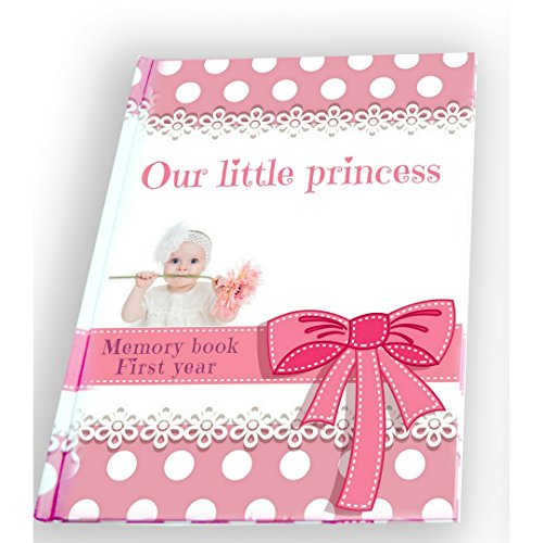 First Year Baby Girl Memory Book   baby monthly milestone    Pink Keepsake Journal With 12 3D Magnetic Butterfly & 15 Monthly Milestone Stickers Perfect Baby Shower from ar4u